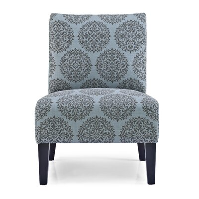 Gerace Slipper Chair Upholstery: Teal