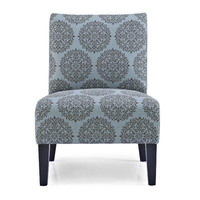 Sitka Slipper Chair Upholstery: Teal