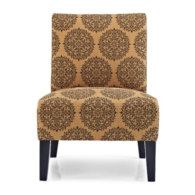 Gerace Slipper Chair Upholstery: Spice