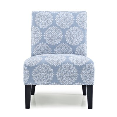 Gerace Slipper Chair Upholstery: Sky