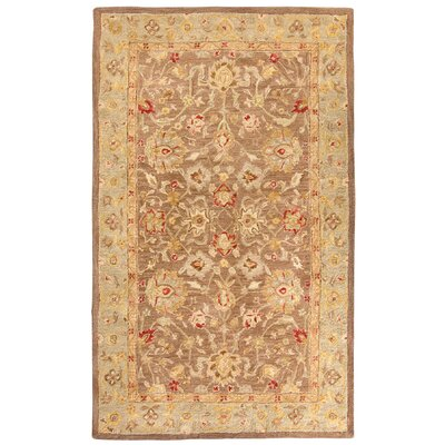 Ellison Brown Area Rug Rug Size: 4 x 6