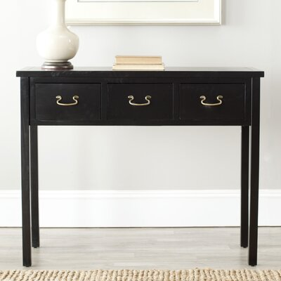 Robinwood Console Table Color: Black