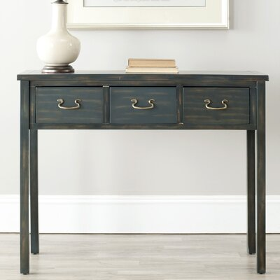 Robinwood Console Table Color: Steel Teal