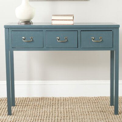 Robinwood Console Table Color: Slate Teal