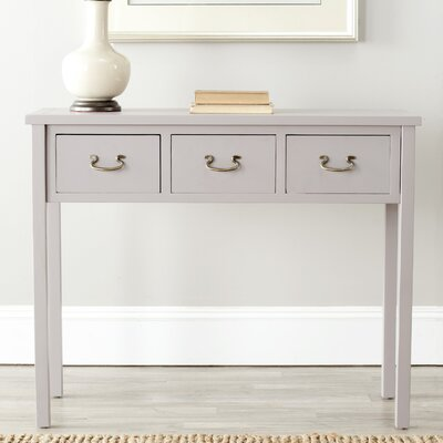 Robinwood Console Table Color: Quartz Grey