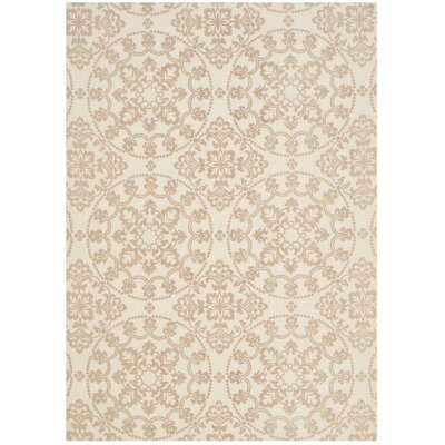 Charing Cross Hand-Loomed Natural/Taupe Area Rug Rug Size: Rectangle 4 x 6