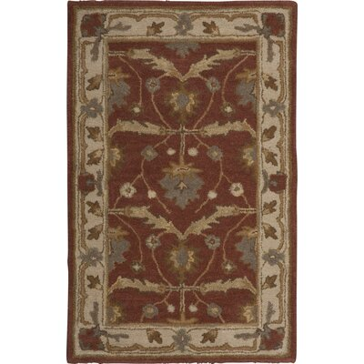 Exmoor Red Area Rug Rug Size: Rectangle 26 x 4