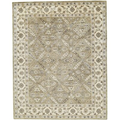 Corsham Hand-Tufted Sage Area Rug Rug Size: Rectangle 96 x 136
