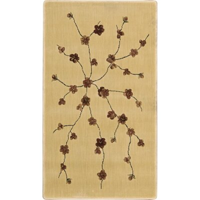 Puckett Ivory Area Rug Rug Size: Rectangle 2 x 36