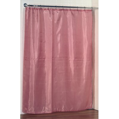 Berning Shower Curtain Liner Color: Rose