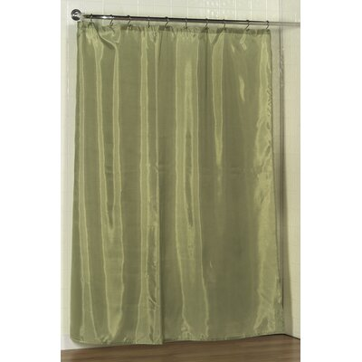 Tamesbury Shower Curtain Liner Color: Sage