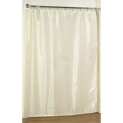 Tamesbury Shower Curtain Liner Color: Ivory