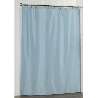 Berning Shower Curtain Liner Color: Light Blue