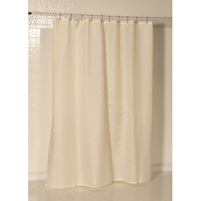 Berning Nylon Shower Curtain Liner Color: Ivory