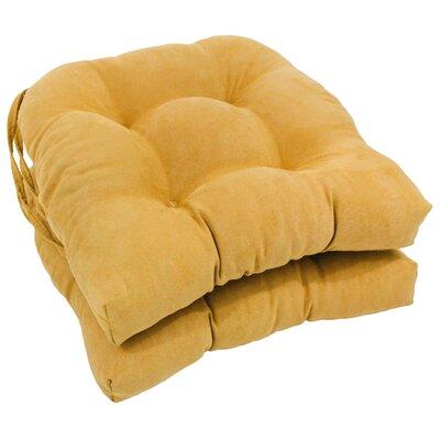 Abbottsmoor Dining Chair Cushion Color: Lemon