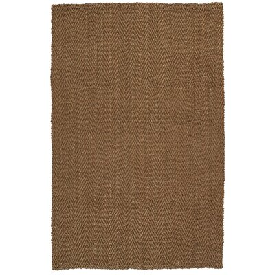 Otto Hand-Loomed Copper Area Rug Rug Size: 8 x 10