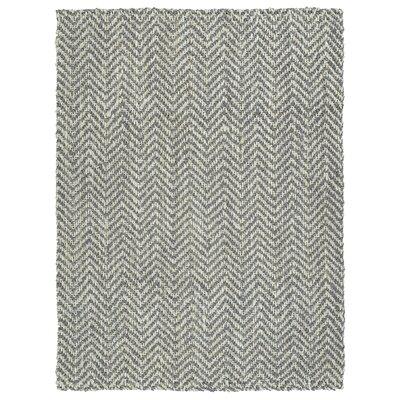 Otto Hand-Loomed Grey Area Rug Rug Size: 5 x 76