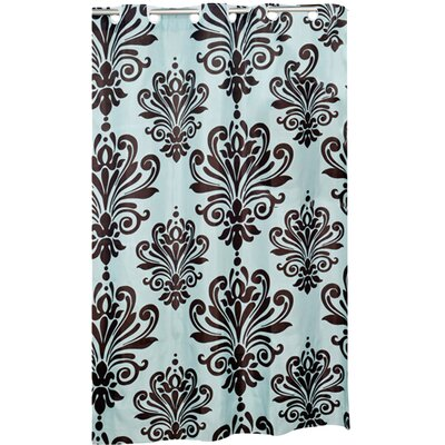 Shower Curtain Color: Brown