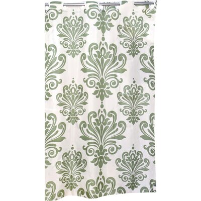 Chelmsford Beacon Hill Shower Curtain Color: Sage