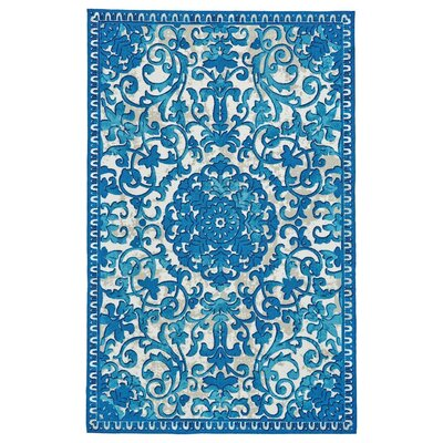 Hilldale Ocean Area Rug Rug Size: Rectangle 96 x 13