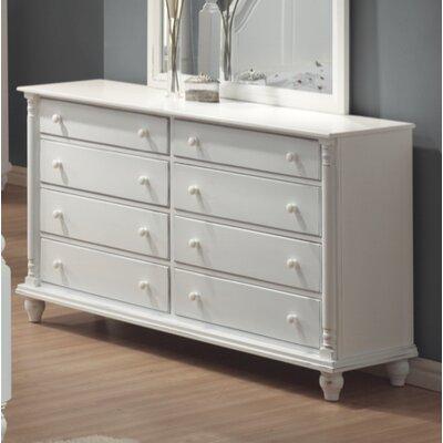 Roseland Bradstane 8 Drawer Standard Dresser