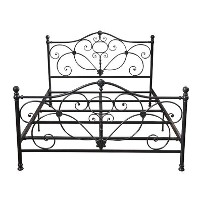 Rosendale Panel Bed Finish: Charcoal