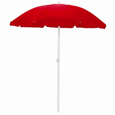5.5 Drape Umbrella Fabric: Red