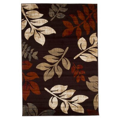 Sharon Lane Burgundy Area Rug Rug Size: 8 x 10