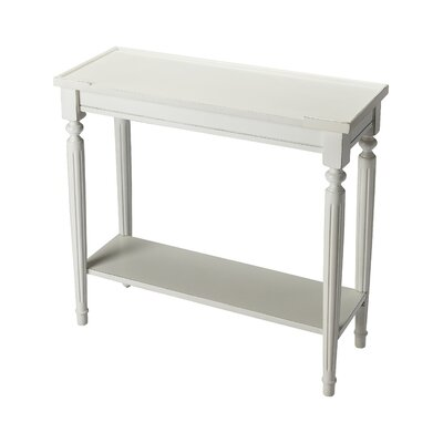 Tipton Console Table Finish: Cottage White