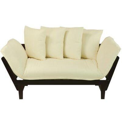 Charlton Home CHLH3018 27435554 Brazil Lounger Futon Upholstery