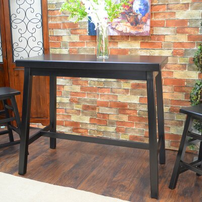 Cotaco Counter Height Bar Table Finish: Antique Black