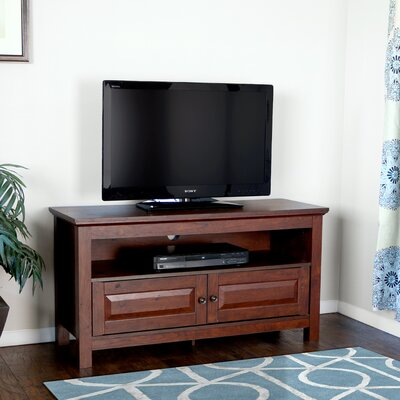 Abingdon 44 TV Stand Color: Brown