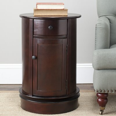 Brownsburg Swivel Oval 1 Drawer Cabinet