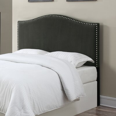LaCrosse Upholstered Headboard Size: Full/Queen, Upholstery: Gray