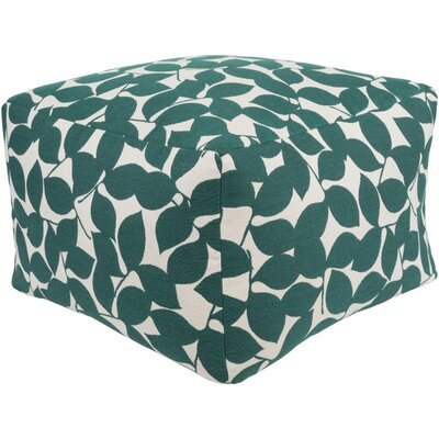 Pouf Ottoman Upholstery: Teal