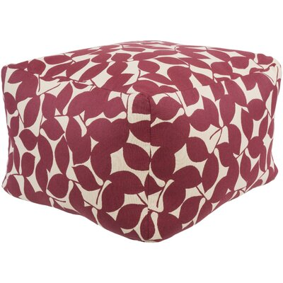 Pouf Upholstery: Magenta
