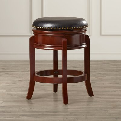 Kingsford 24 Swivel Bar Stool Finish: Cherry