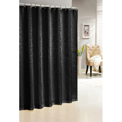 Saint Paul Shower Curtain Color: Black