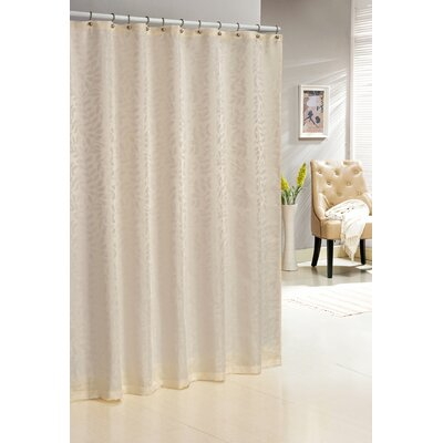 Saint Paul Shower Curtain Color: Ivory