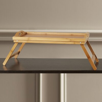 Charlton Home Vass Bed Tray with Folding Legs