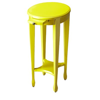 Wentworth Side Table Color: Yellow
