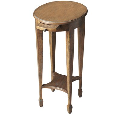 Wentworth Side Table Color: Cherry Veneer