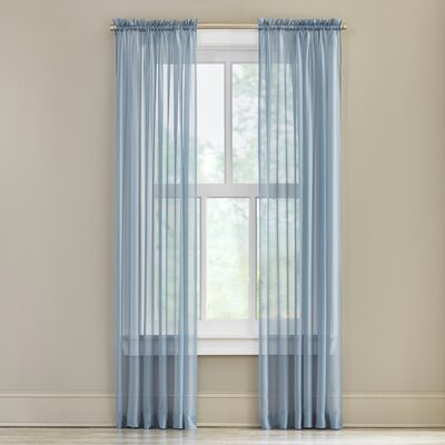 Forrester Rod Pocket Sheer Curtain Panel