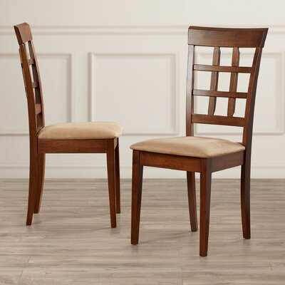 Greensburg Back Side Chair Color: Chestnut
