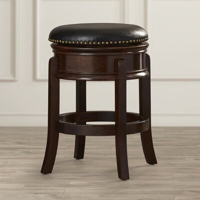 Kingsford 24 Swivel Bar Stool Finish: Cappuccino