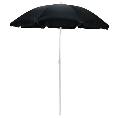 5.5 Drape Umbrella Fabric: Black