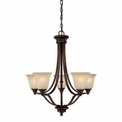 Lindenwood 5-Light Shaded Chandelier