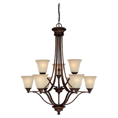 Lindenwood 9-Light Shaded Chandelier