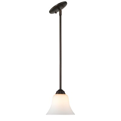 Bilbrook 1-Light Mini Pendant Finish: Rubbed Bronze
