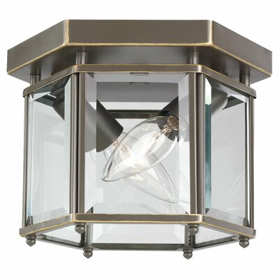Pinecrest 2-Light Outdoor Flush Mount